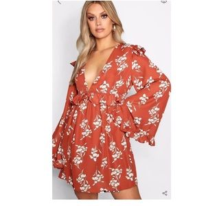 Floral min dress